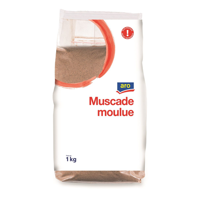 Muscade moulue 1 kg aro