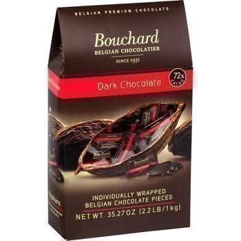 Napolitains au chocolat noir 72 cacao 1 kg
