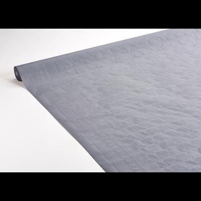 Nappe rouleau damassee gris 1 18 x 50 m