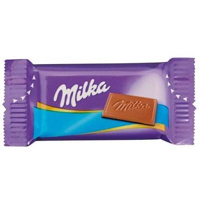 Naps chocolat au lait 355 pieces milka vendu a l unite