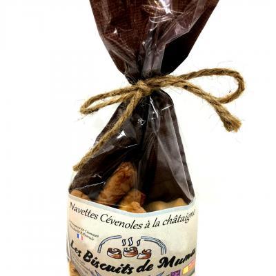 Navettes cevenoles a la chataigne 150g les biscuits de mumu