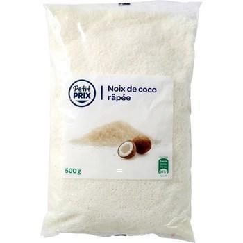 Noix de coco rapee petit prix 500 g