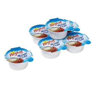 Nuage de lait concentre non sucre en coupelle 7 5 g regilait