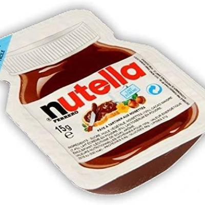 Nutella 15 g vendu a l unite