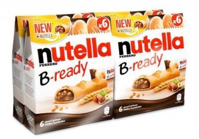 Nutella b ready x 6 vendu par 4 pour professionnels