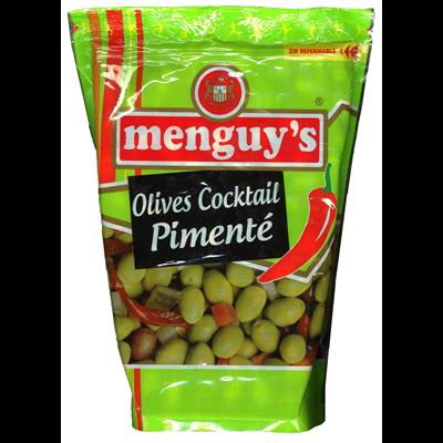 Olives cocktail pimente 936 g menguy s