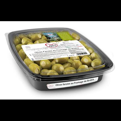 Olives farcies au fromage de brebis 1 kg