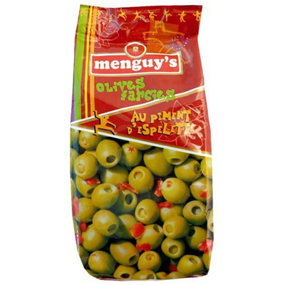 Olives farcies au piment d espelette 150 g menguy s
