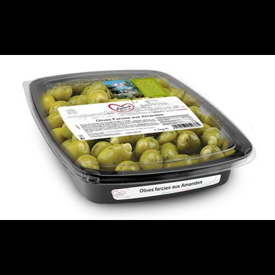 Olives farcies aux amandes 1 kg