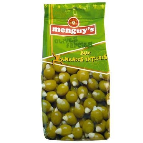 Olives farcies aux amandes entieres 150 g menguy s pour bureau