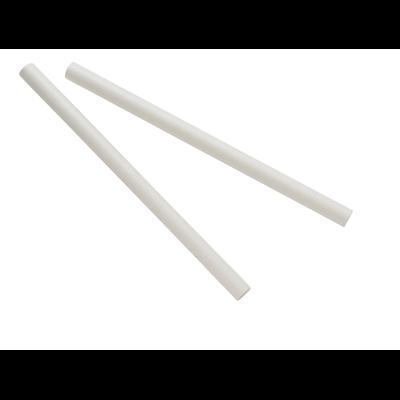 Paille droite papier blanc 0 8 x 15 cm x 500