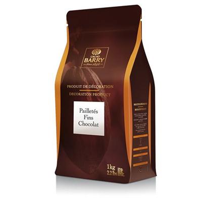 Pailletes fins chocolat 1 kg barry 2