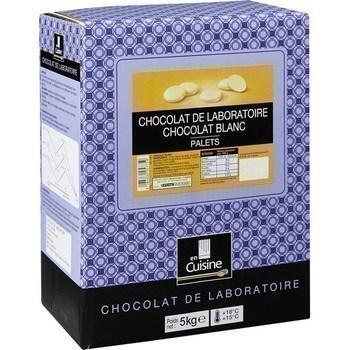 Palets chocolat blanc chocolat de laboratoire 5 kg