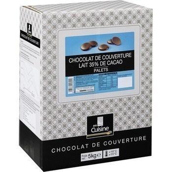 Palets chocolat lait 35 de cacao chocolat de couverture 5 kg