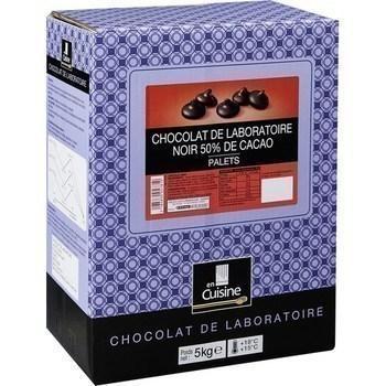 Palets chocolat noir 50 de cacao chocolat de laboratoire 5 kg