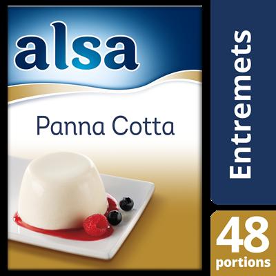 Panna cotta 520 g 48 portions alsa