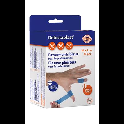 Pansement bleu pour professionnel x 32 detectaplast 1