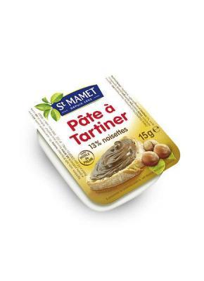 Pate a tartiner aux noisettes 120x15 g saint mamet dosettes 2