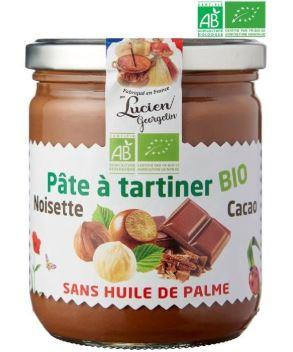 Pate a tartiner noisettes cacao bio 150g georgelin