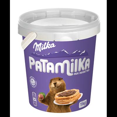 Pate a tartiner patamilka aux noisettes pot 1 kg
