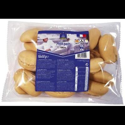 Petit pain precuit nature 18 x 50 g