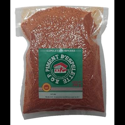 Piment d espelette aop 250 g
