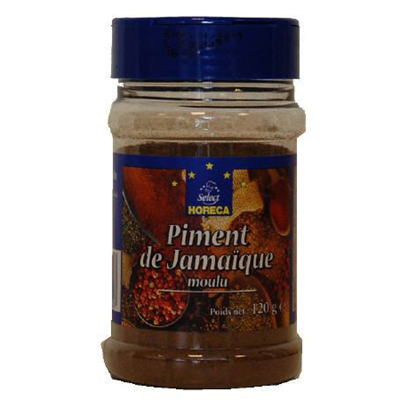 Piment de jamaique moulu 120 g horeca select