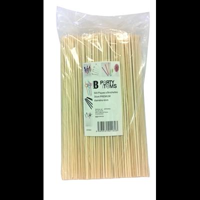 Pique a brochette bambou 30 cm x 501