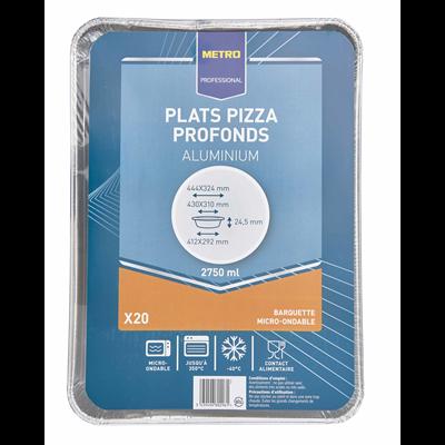 Plat a pizza 44 4 x 3 4 cm vendu par 20