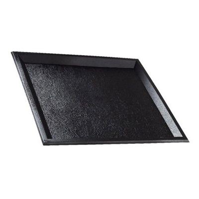 Plateau plastique imitation ardoise solia 24 x 24 cm vendu par 10