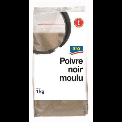 Poivre noir moulu 100 g aro