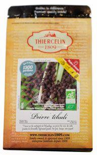 Poivre tchuli baies sechees bio 200 g thiercelin