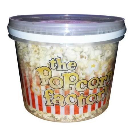 Pop corn sucre seau 250 g the popcorn factory pour bureau