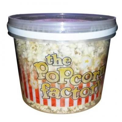 Pop corn sucre seau 250 g the popcorn factory pour bureau