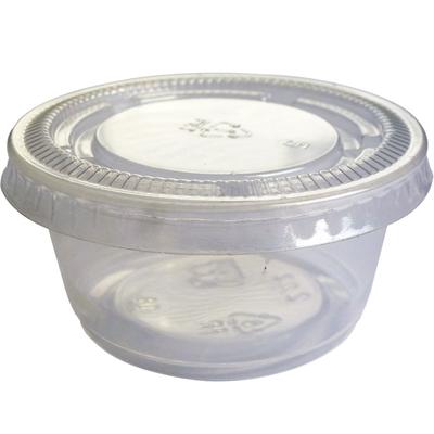 Pot a sauce couvercle 60 ml vendu par 100