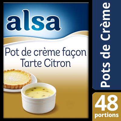 Pot de creme facon tarte citron 800 g 48 portions alsa