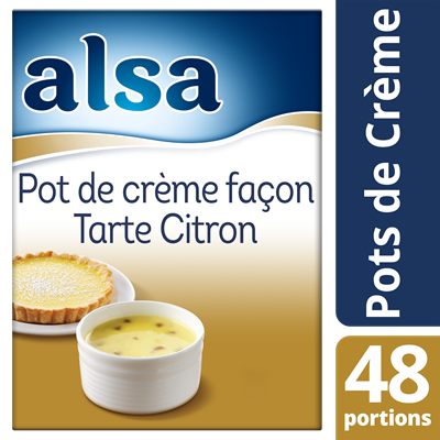 Pot de creme facon tarte citron 800 g 48 portions alsa