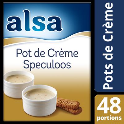 Pot de creme speculoos 720 g 48 portions alsa