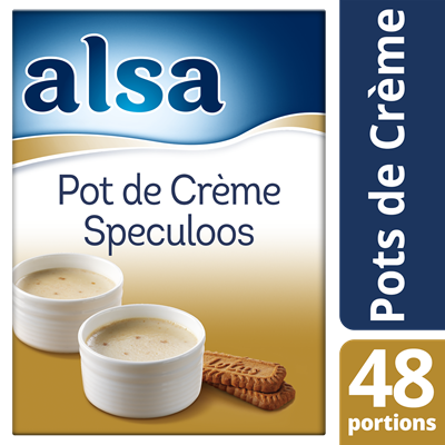 Pot de creme speculoos 720 g 48 portions alsa