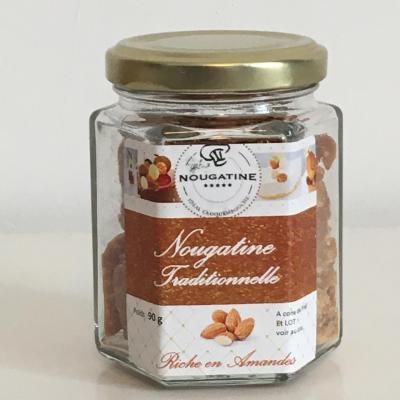 Pot de nougatine traditionnelle ideal croquembouche 90g