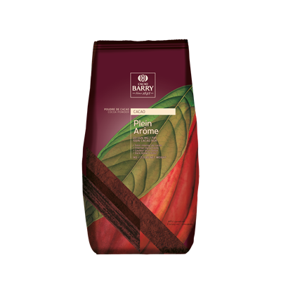 Poudre de cacao plein arome 100 cacao 1 kg barry