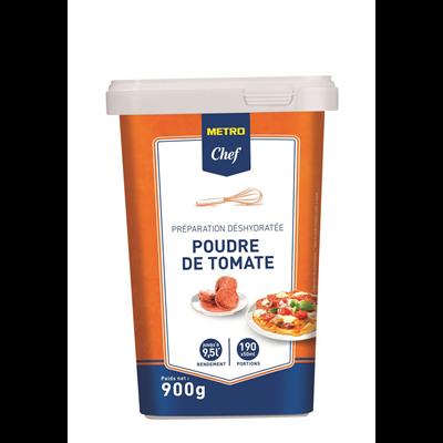 Poudre de tomate 9 5 l 900 g metro chef 1
