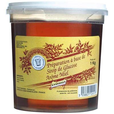 Preparation a base sirop glucose arome miel 1 kg
