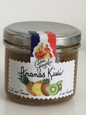 Preparation de fruits ananas kiwi 100g lucien georgelin