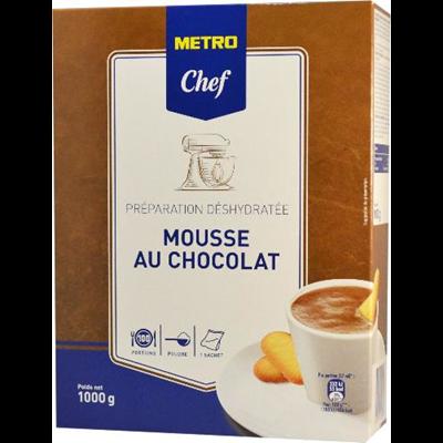 Preparation pour mousse au chocolat 1 kg metro chef