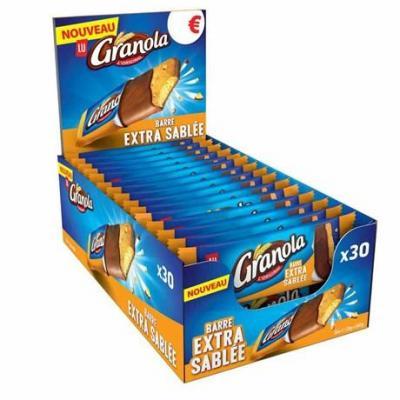 Presentoirs barre granola 30 x 28 g pour bureau