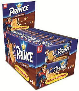 Prince pocket 20 x 80 g lu biscuits individuels