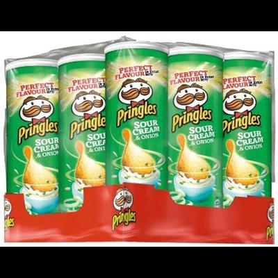 Pringles creme oignons 130 g
