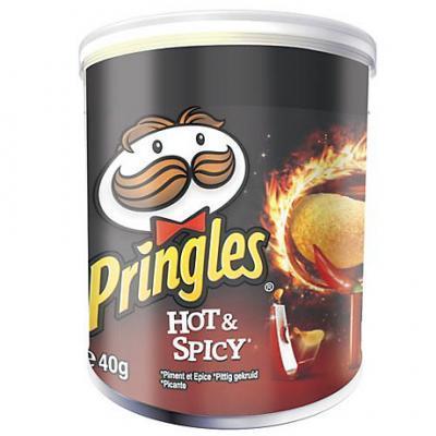 Pringles hot et spicy 12 x 40 g cevennes terroir colis gastronomiques