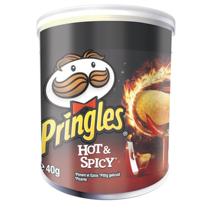 Pringles hot spicy 12 x 40 g